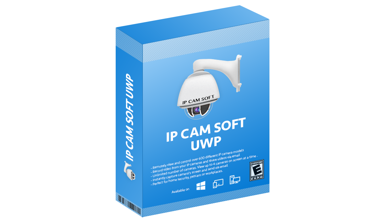 IpCamSoft UWP App - Ip Cam Soft
